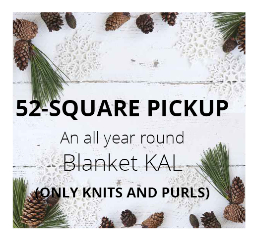 52-SQUARE PICKUP: An all year round KAL